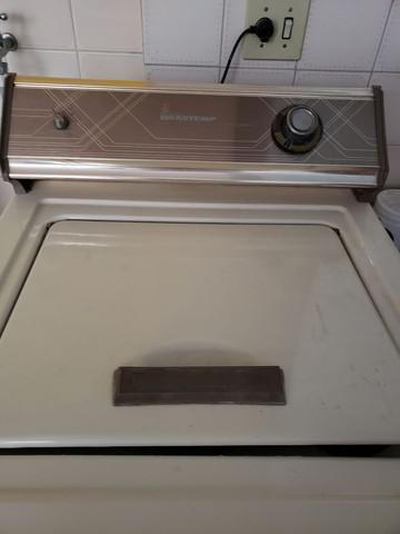 Máquina lavar brastemp antiga retrô vintage conservada