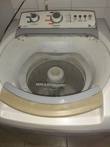 Máquina de lavar brastemp 8k. (usada)