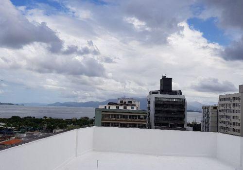 Sala comercial ático centro florianópolis