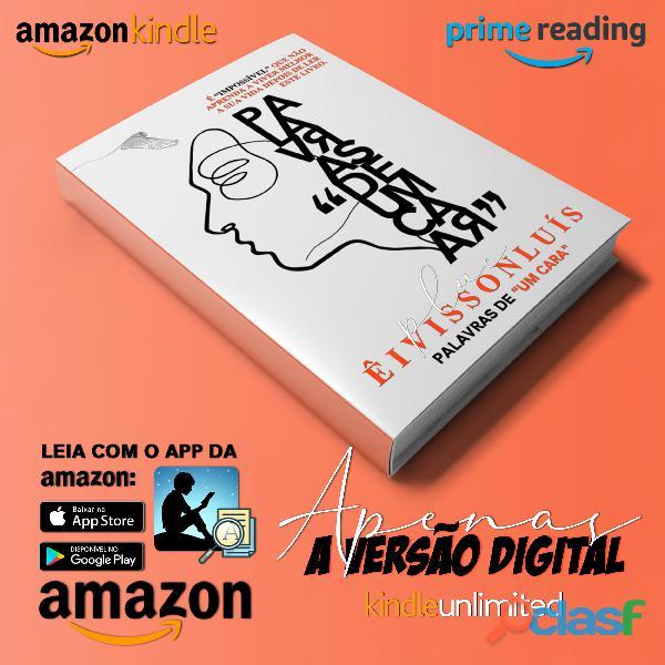 """Livro digital (ebook palavras de """"um cara"""")"""