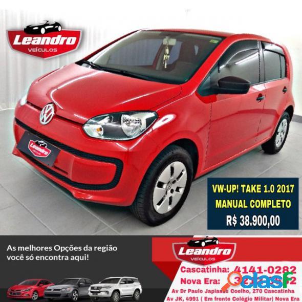 Volkswagen up! take 1.0 total flex 12v 5p vermelho 2017 1.0 flex