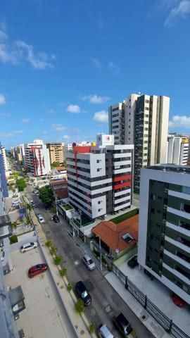 Alugo apartamento mobiliado na ponta verde - andar alto