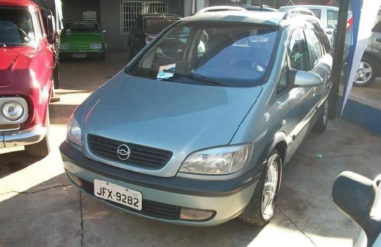 Chevrolet zafira 2.0 mpfi 8v / 2003