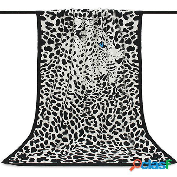 100x180cm leopard horses stripe impressa em microfibra absorvente praia toalhas toalha de banho de secagem rápida