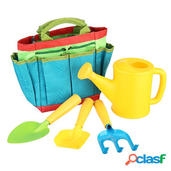 Conjunto de ferramentas de jardinagem infantil kit de ferramentas de jardim infantil bolsa pá brinquedos de ferramentas