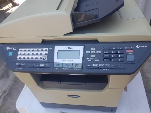 Impressora multifuncional laser brother mfc-8860