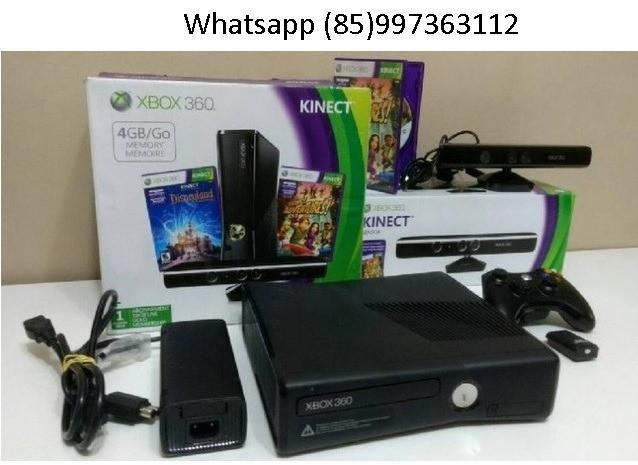 Xbox 360 completo com hd500gb cheio jogos lançamentos frete