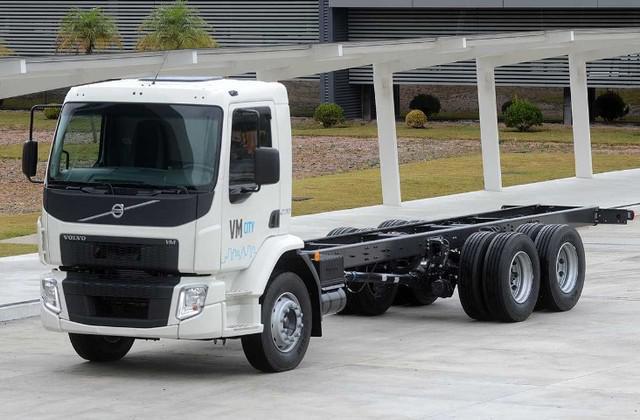 Caminhão volvo vm city 270 ano 2021 zero km
