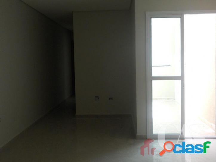 Apartamento com 2 dormitórios à venda, 51 m² por r$ 265.000,00 - vila guarani - santo andré/sp