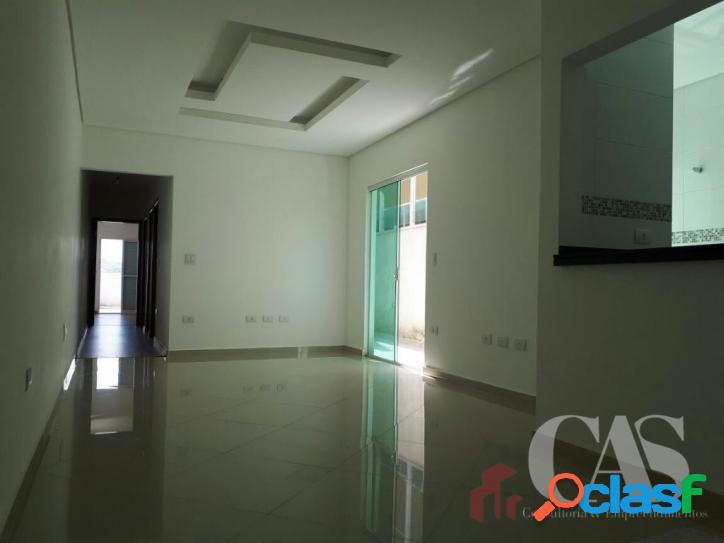 Apartamento com 3 dormitórios à venda, 95 m² por r$ 400.000,00 - jardim santo antônio - santo andré/sp