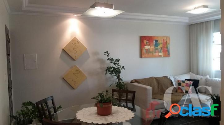 Apartamento com 2 dormitórios à venda, 53 m² por r$ 195.000,00 - jardim santo andré - santo andré/sp
