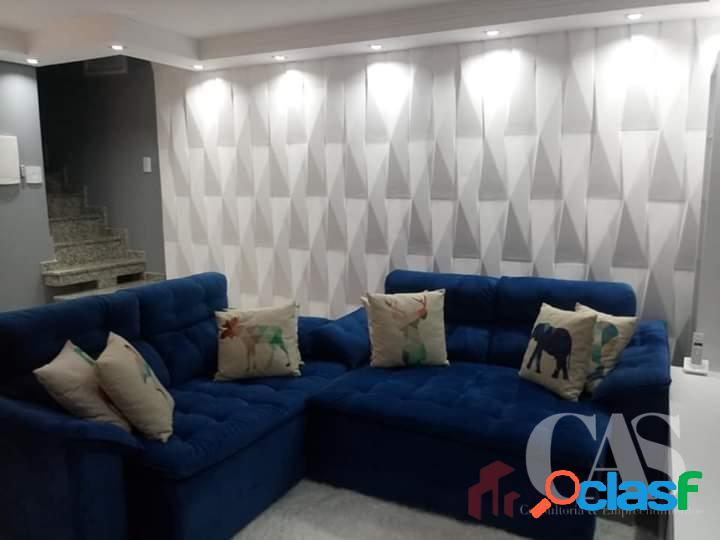 Cobertura com 2 dormitórios, 120 m² por r$ 400.000 - parque capuava - santo andré/sp