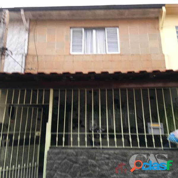 Sobrado com 2 dormitórios à venda, 75 m² por r$ 340.000,00 - vila alzira - santo andré/sp