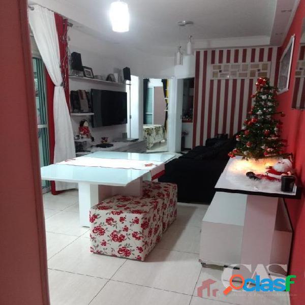 Apartamento térreo 2 quartos 1v. 74m² - paraíso - santo andré/sp