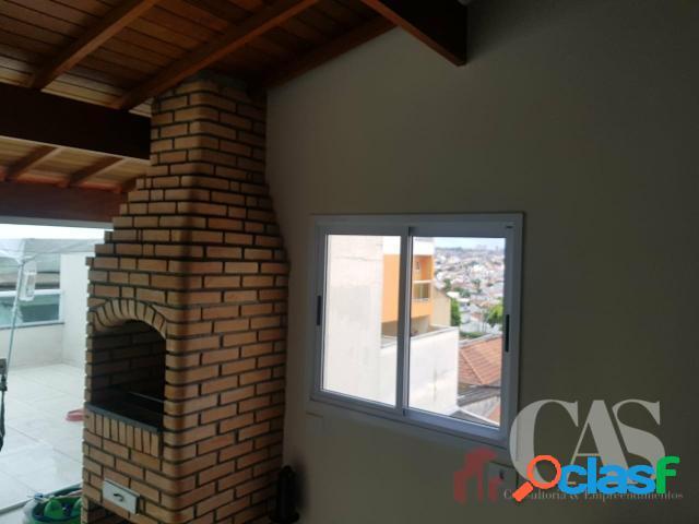 Cobertura 2 Dormitórios 2 Vagas, 100 m² Parque Oratório, Santo André - SP