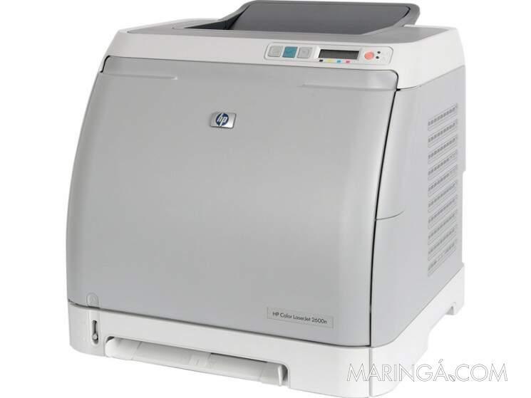 Impressora hp color laserjet 2600n 4 toner novo