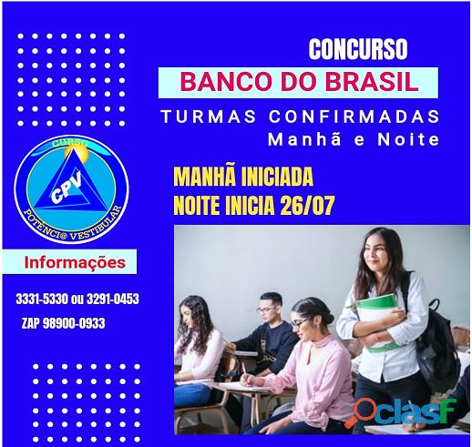 Preparatório banco do brasil