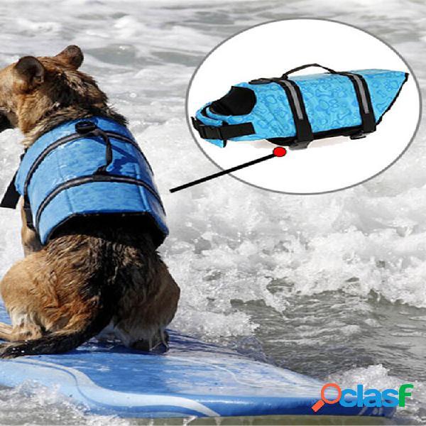 Cachorro jaqueta pet cachorro cat saver colete salva-vidas colete salva-vidas
