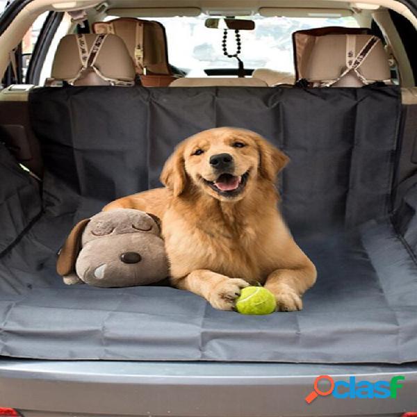 Capa de banco de carro impermeável de viagem para animais de etimação