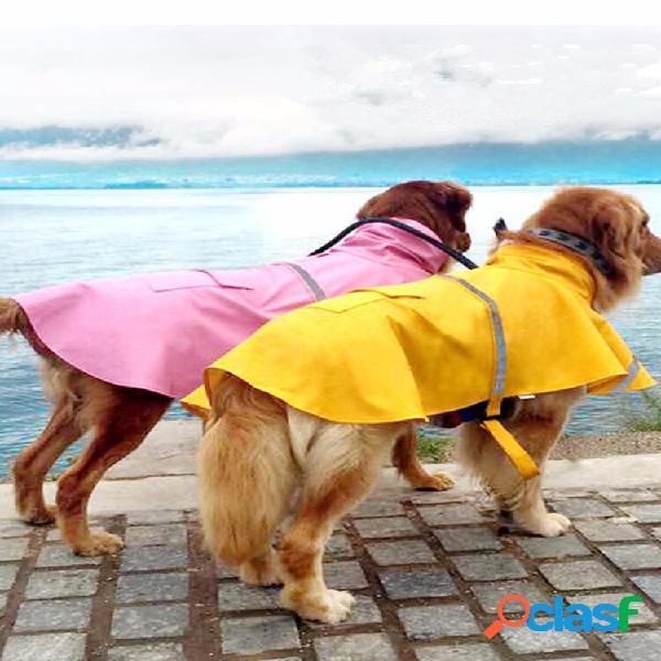 Casaco impermeável xxl cachorro casaco impermeável para cachorro