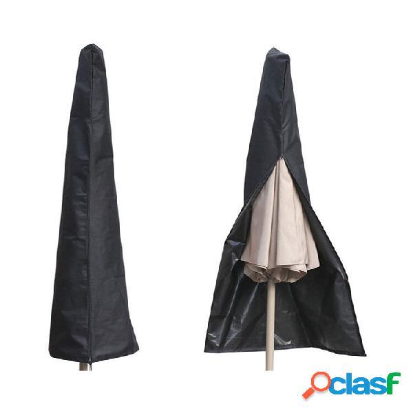 Capa protetora de guarda-chuva para mercado externo de pátio bolsa
