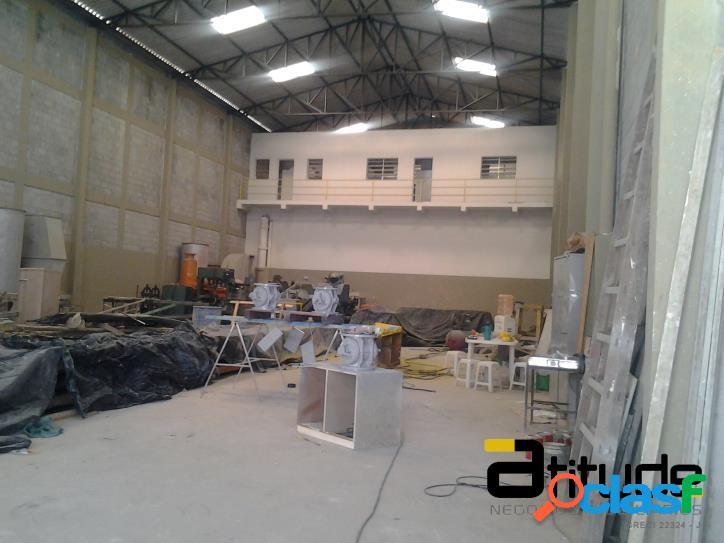 Galpão 880 m2 chácaras marco em barueri