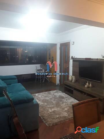 Apartamento 4 dormitórios 2 vagas - 138m² - bairro jardim/santo andré