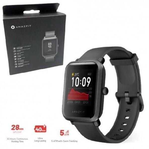Amazfit bip lite xiaomi relógio smartwatch global lacrado -