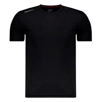 Camisa penalty matis vii uv manga curta infantil preta