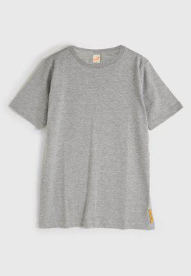 Camiseta green manga curta menino cinza