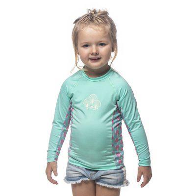 Camiseta manga longa baby grom 5b surf mormaii verde