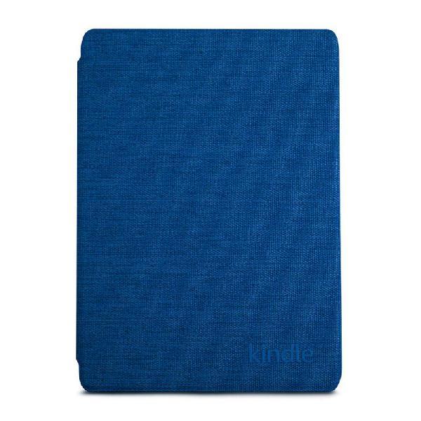 Capa de tecido kindle 10ª geração azul