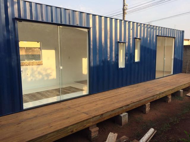 Casa container, escritorio, pousada, kitnet em passo fundo