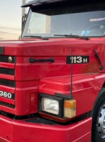 Scania 113 top line ano 1998/98 truck 6x2 8 machas