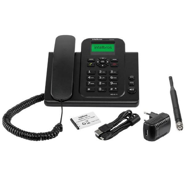Telefone fixo intelbras cfw 8031wifi 3g roteador