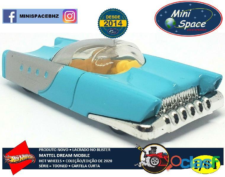 Hot Wheels 2021 Mattel Dream Mobile Azul Cartela Curta 1/64