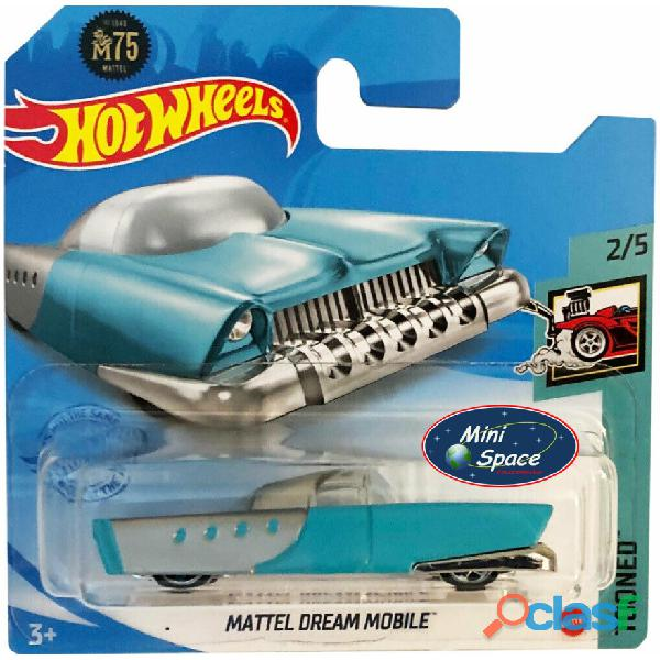 Hot Wheels 2021 Mattel Dream Mobile Azul Cartela Curta 1/64 1