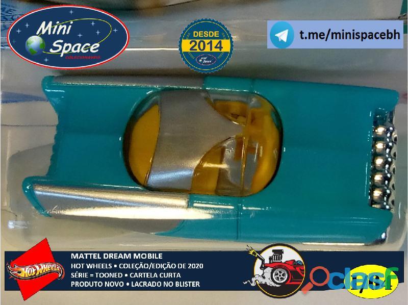 Hot Wheels 2021 Mattel Dream Mobile Azul Cartela Curta 1/64 2