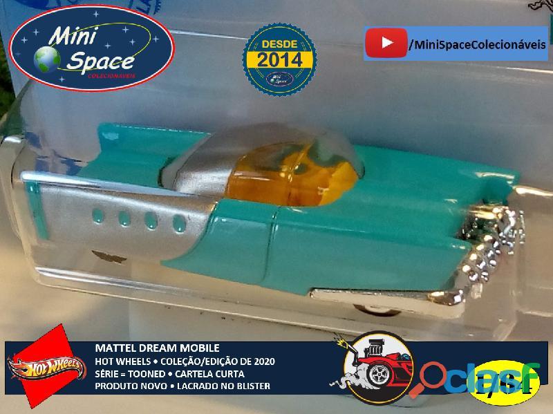 Hot Wheels 2021 Mattel Dream Mobile Azul Cartela Curta 1/64 4