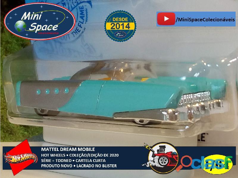 Hot Wheels 2021 Mattel Dream Mobile Azul Cartela Curta 1/64 8