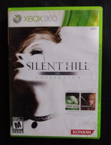 Jogo xbox 360 - silent hil hd collection