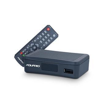 Conversor digital dtv-4000s tv digital - aquario - conversor