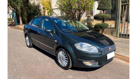 Fiat linea 1.9 absolute 1.9/1.8 flex dualogic 4p 09/10 cinza