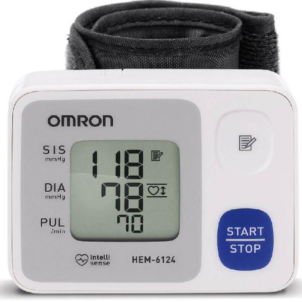 Monitor de Pressão Arterial Digital de Pulso Omron HEM 6124