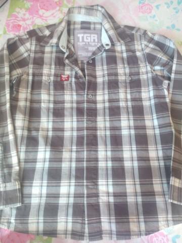 Camisa manga comprida da tigor