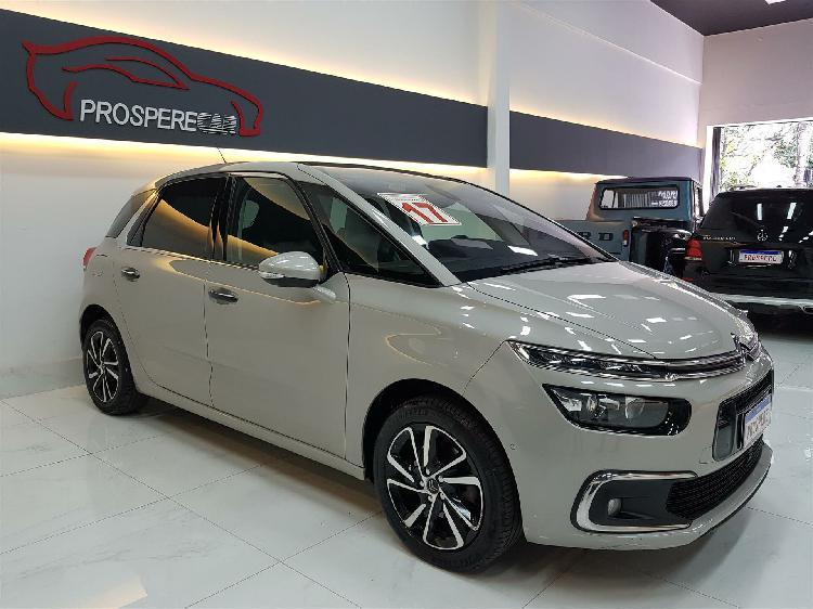 Citroën c4 picasso 1.6 intensive turbo prata 2016/2017 -