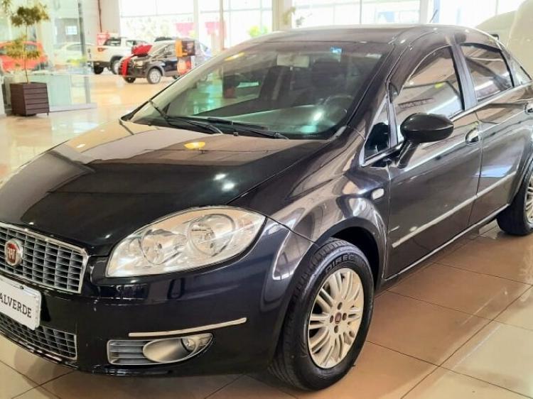 Fiat linea 1.8 essence 16v preto 2012/2013 - campinas