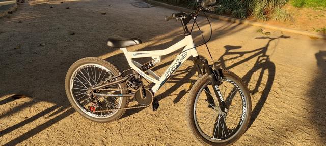 Bicicleta infantil aro 20 status full - branco