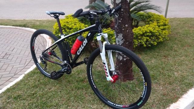 Bike caloi elite 30, aro 29 usada