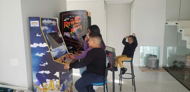 Fliperama arcade multijogos máquinas profissional nova